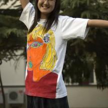 Harrow International High School of Beijing - Acrylic on T-shirts