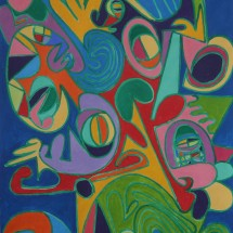 2009 - 76 x 49 inches - Acrylic on canvas