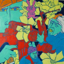 1992 - 18 x 24 inches - Acrylic on canvas