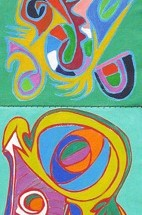 2011 - 68 x 15 inches - Acrylic on canvas