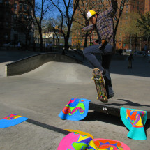 Art Intervention Skateboarding
