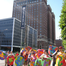 Art walk to City Hall